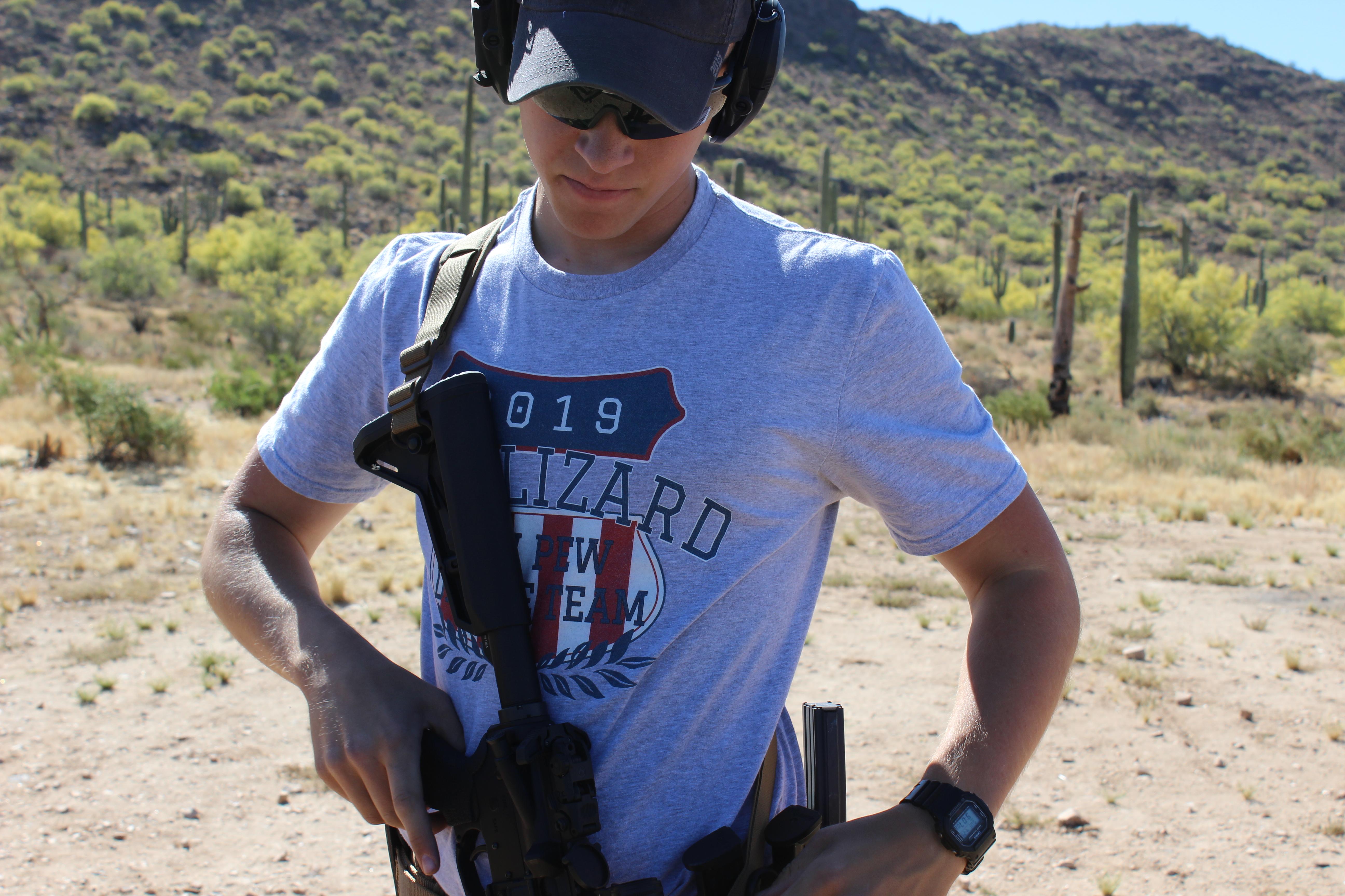 Warlizard Carbine Training - Stallwood Photo